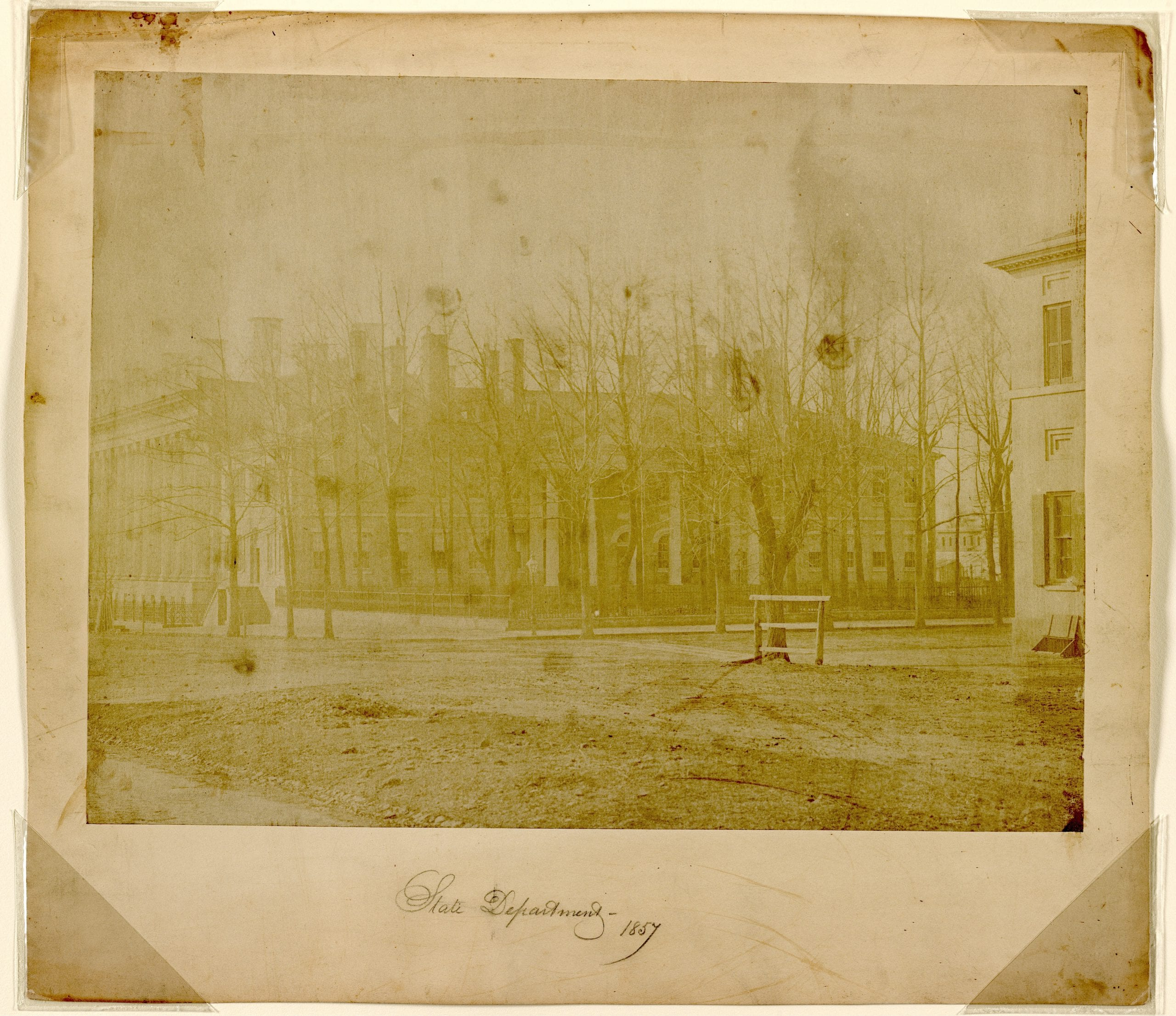 Oldest Photo of State Department