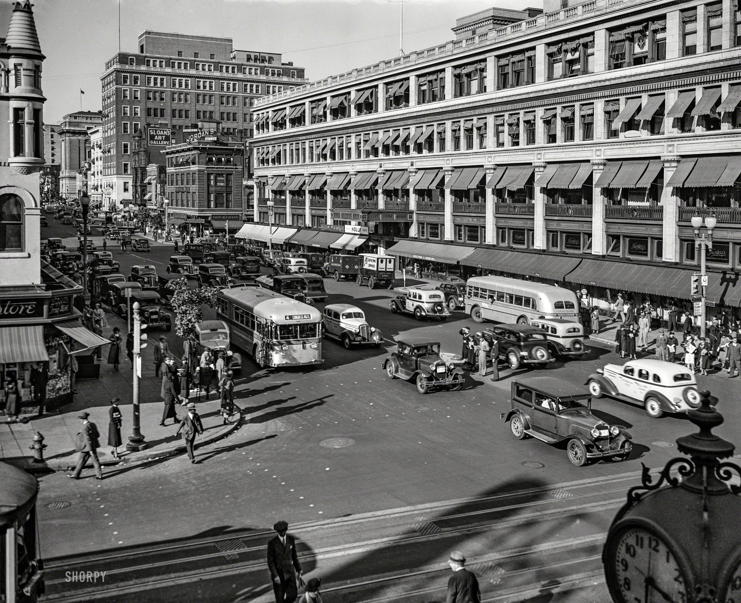 What Did Metro Center Look Like in 1935?