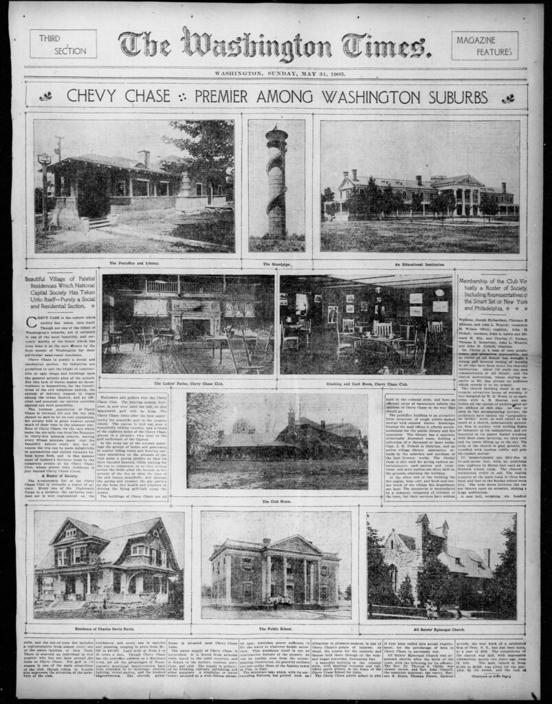The Washington times., May 31, 1903, Magazine Features