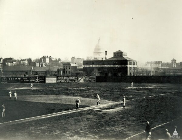 Swampoodle Grounds (near present day Union Station), also known as Capitol Park, was the home of the Washington Nationals baseball team of the National League from 1886 to 1889.