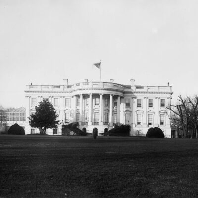 White House image from the 1880s