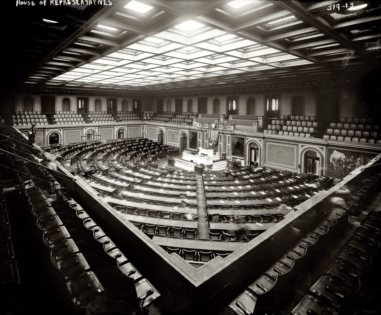 Photo of U.S. House of Representatives When Laws Were Once Passed