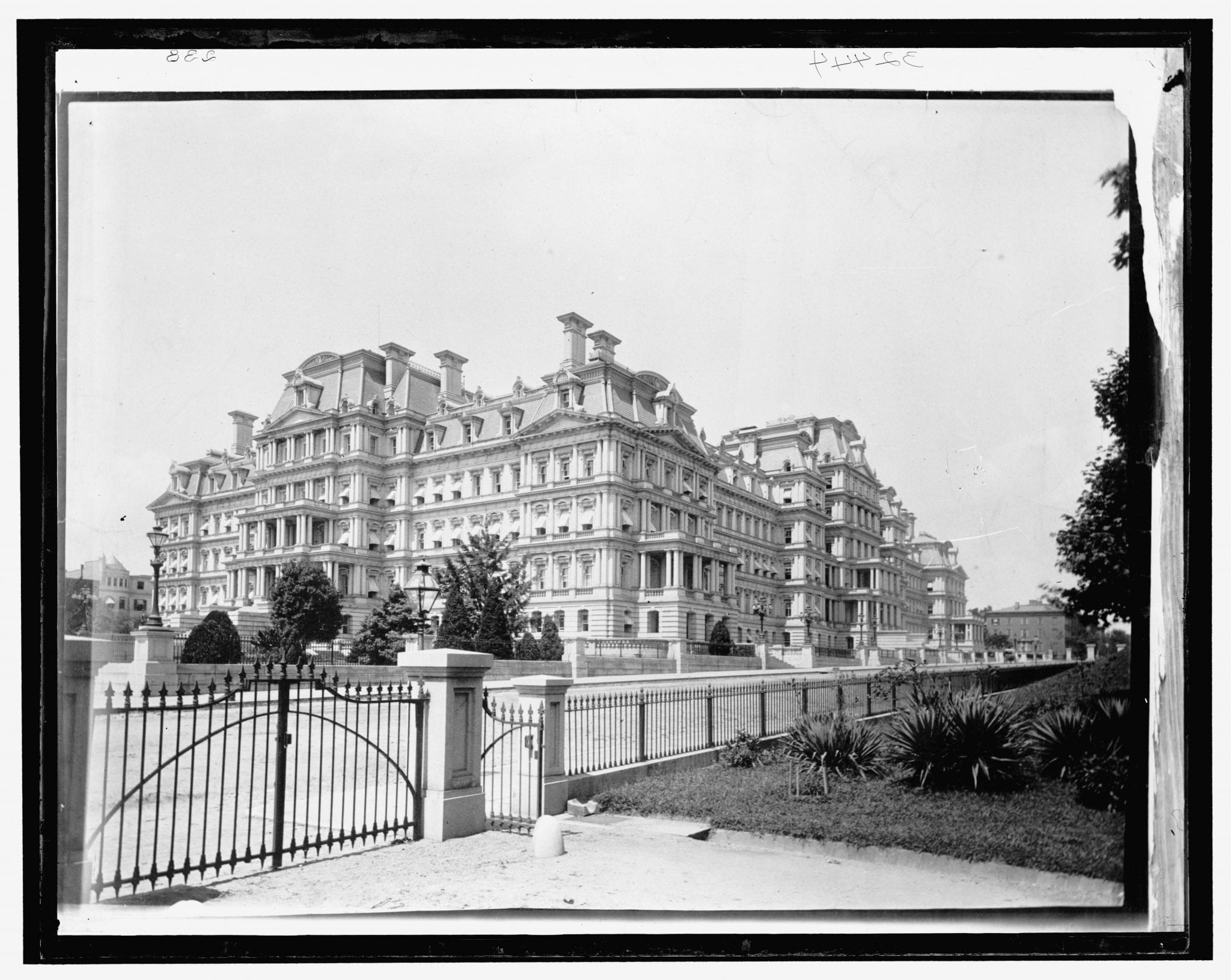 Rare 1890s Photo of Old Executive Office Building
