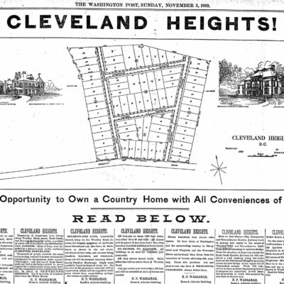 Cleveland Heights - 1889