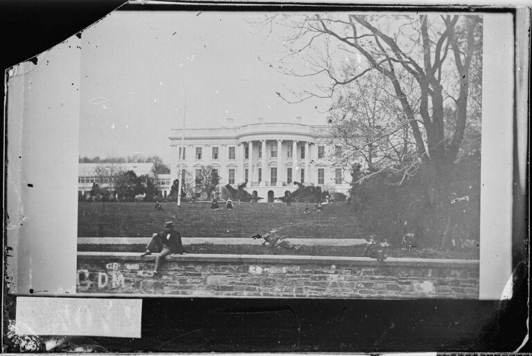 The White House during the Civil War