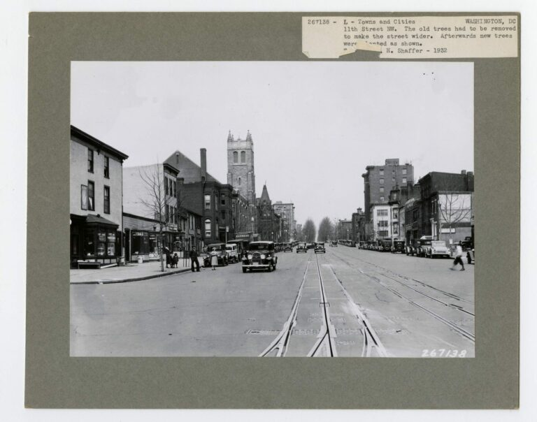 11th and L St. NW in the 1920s