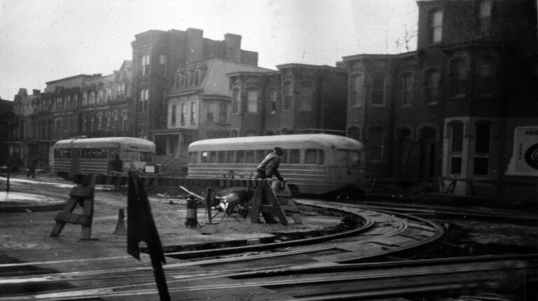 600 block of Independence Ave. SW in 1941
