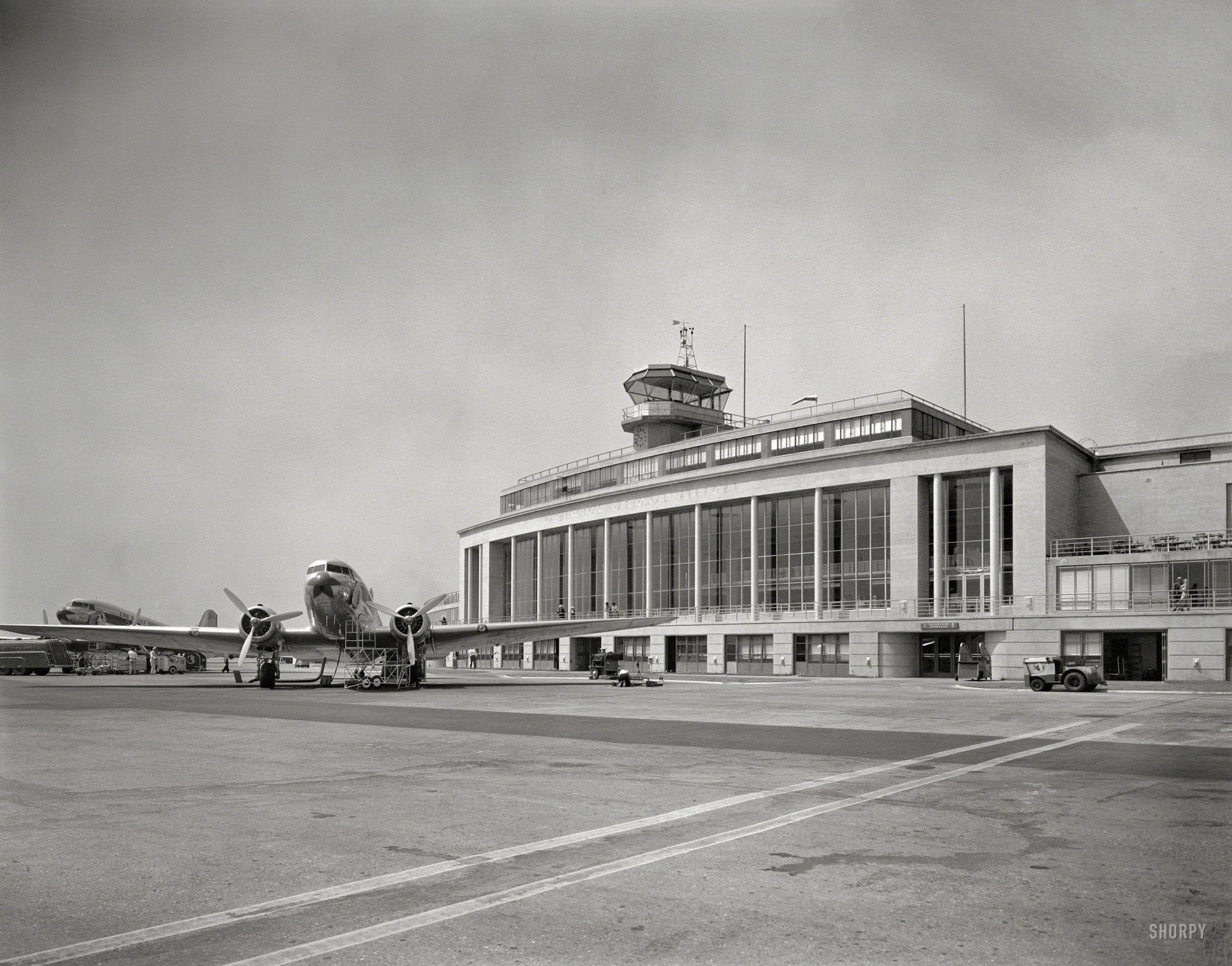 National Airport Way Back in 1941