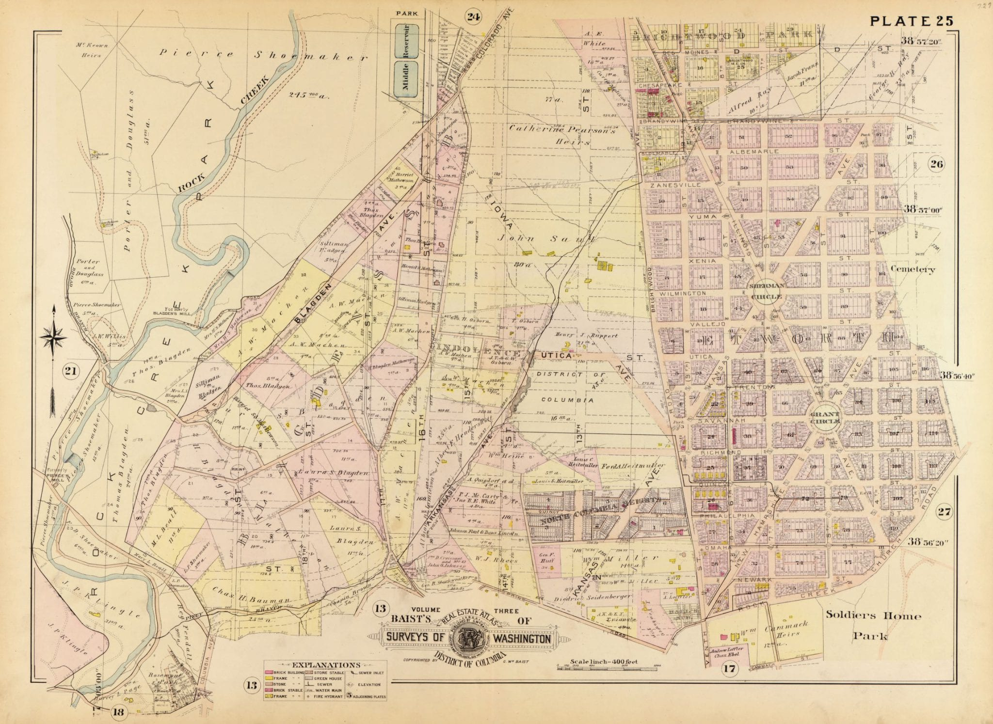 1903 map of Petworth