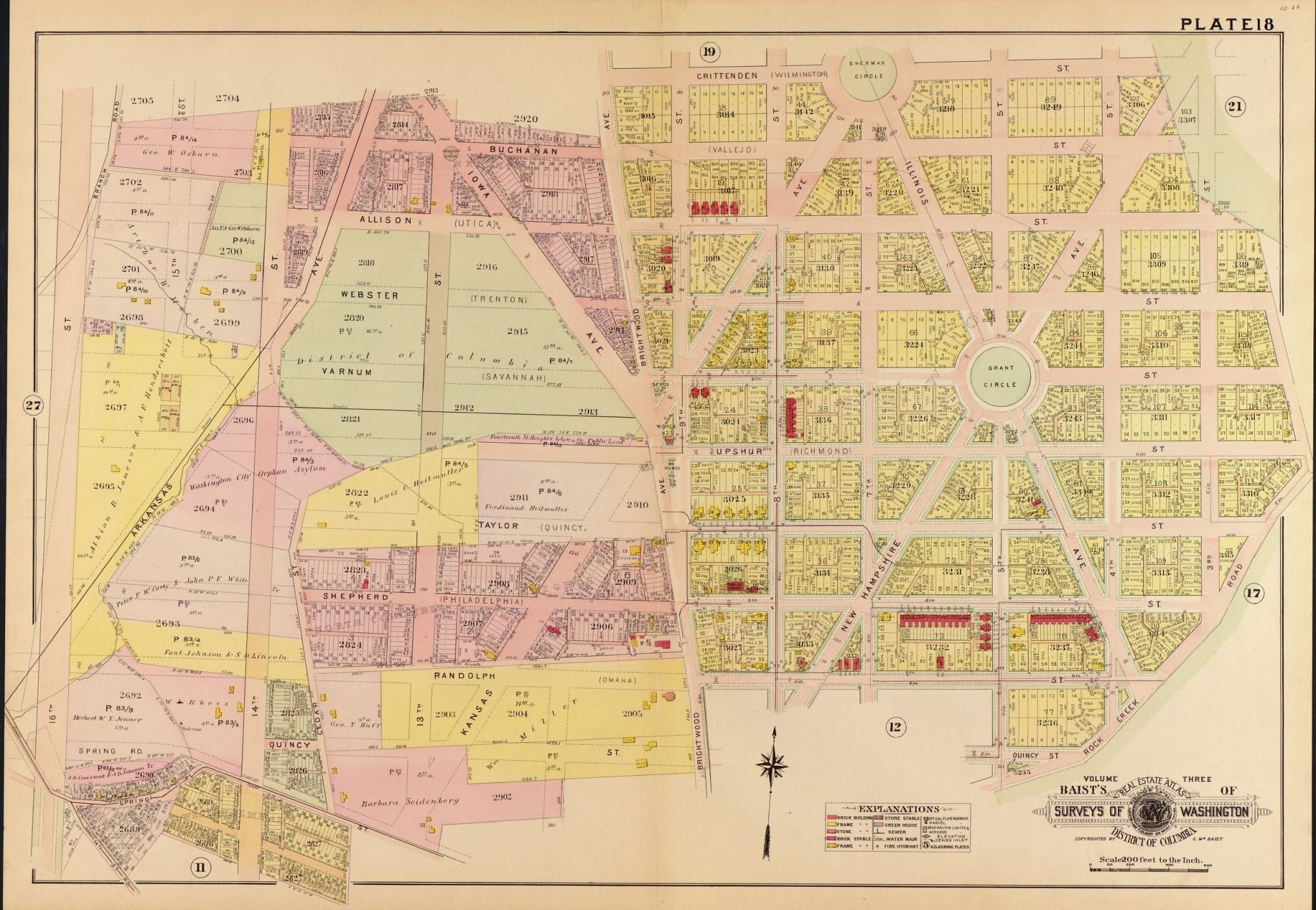 1907 map of Petworth