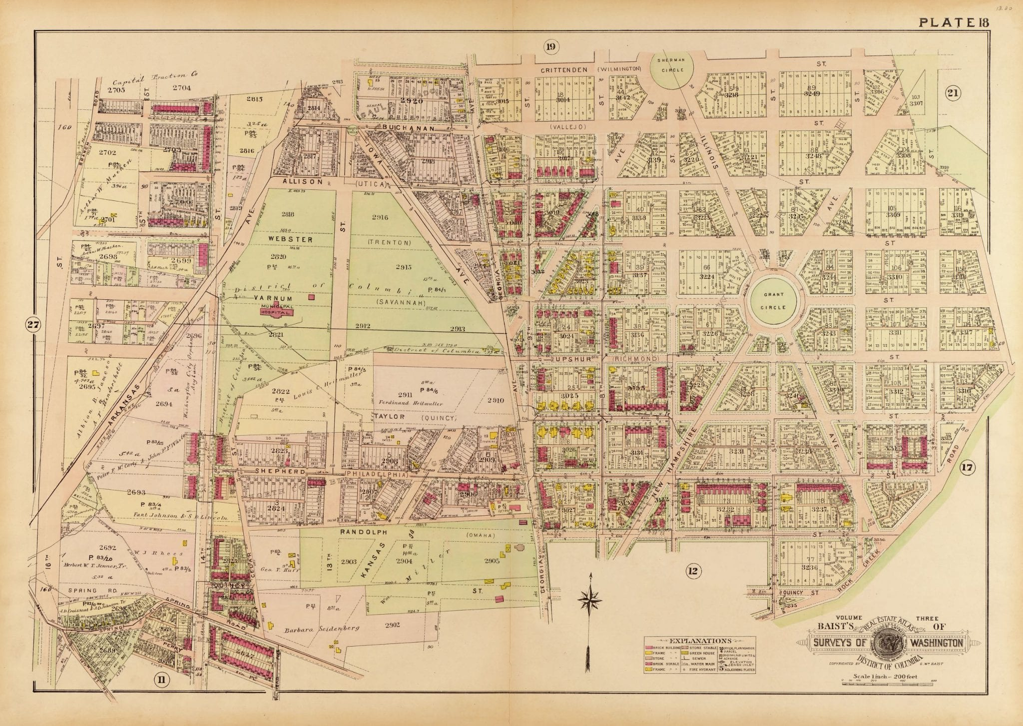 1909 map of Petworth