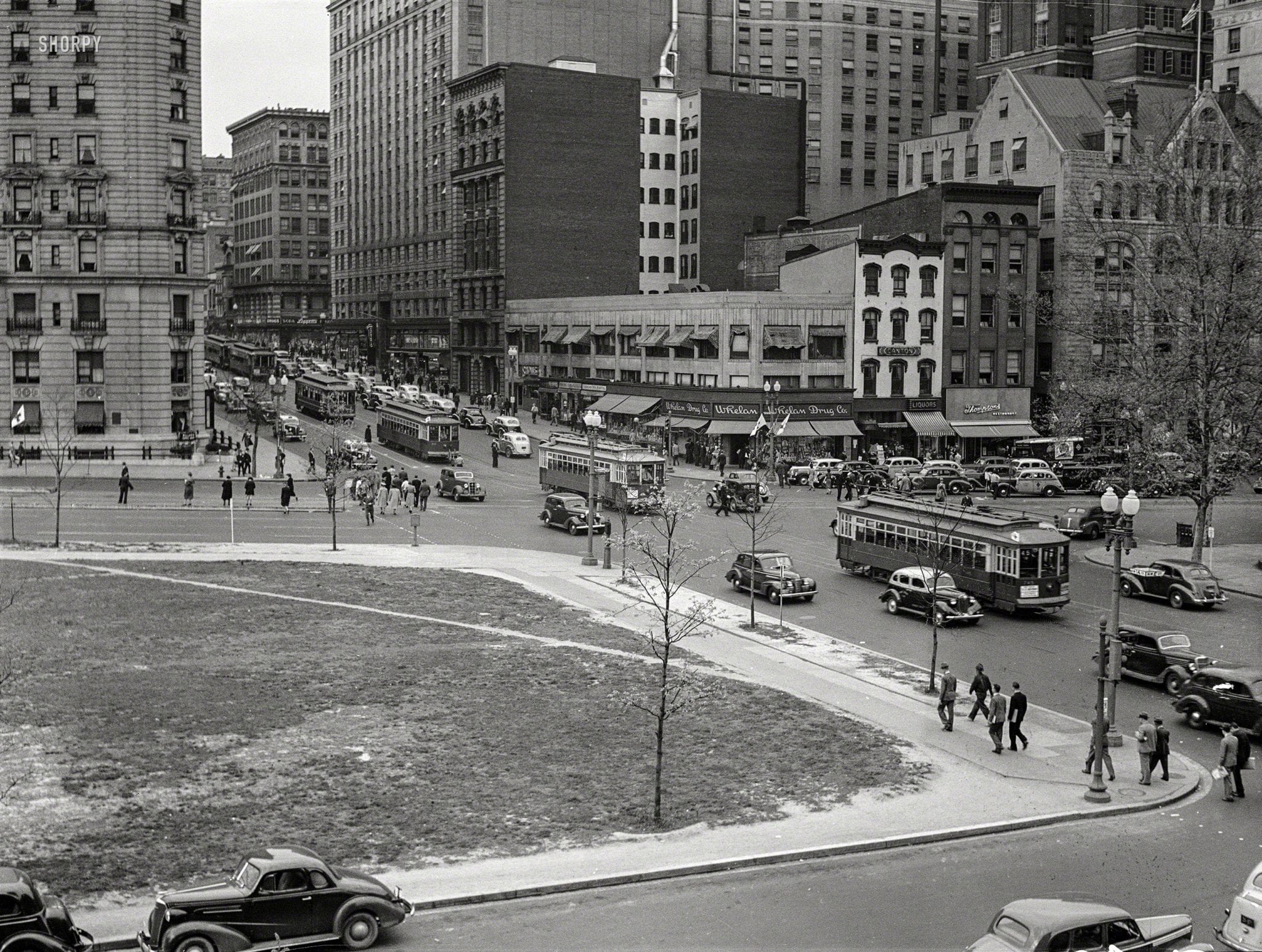 1939 View of 14th and Penn.