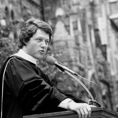 Governor Clinton Delivers 1980 Georgetown Commencement