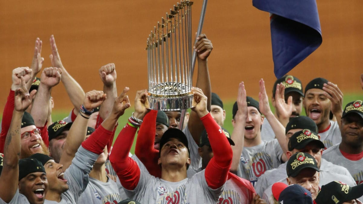 When the Nationals Won the World Series