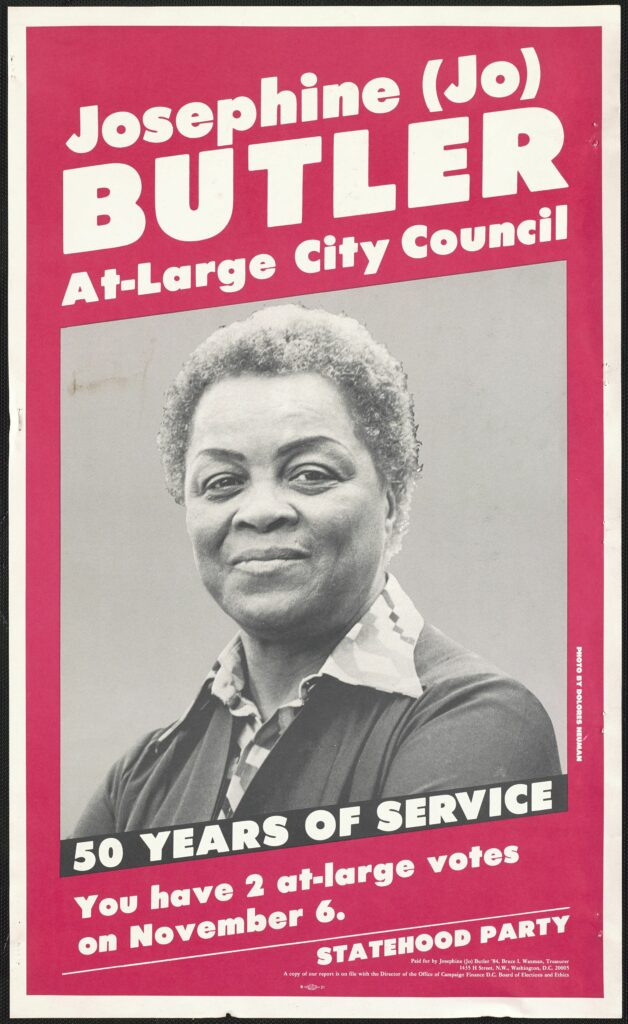 Josephine Butler At-Large City Council (1978)