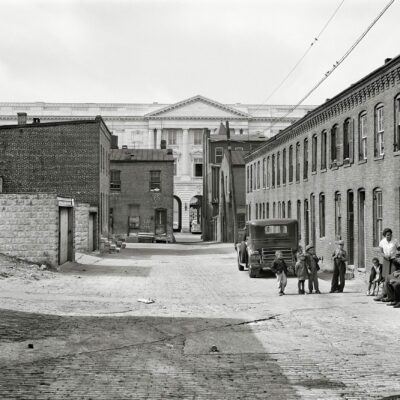 D.C. Alley Life in 1941